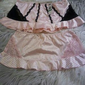 Jezebel Intimates & Sleepwear - Sold! 2 New Sexy Bootie Skirts